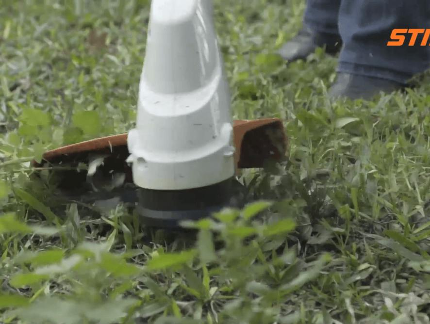 Roçadeira STIHL - É hora de fazer o jardim