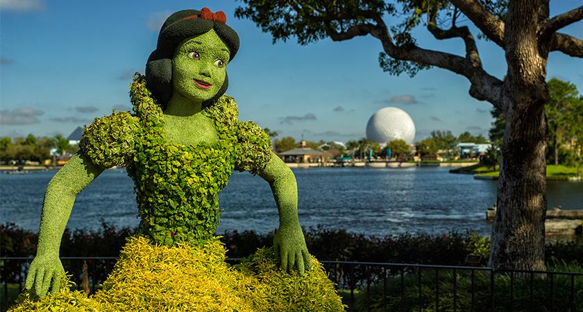 Festival Internacional de Flores e Jardinagem acontece na Disney