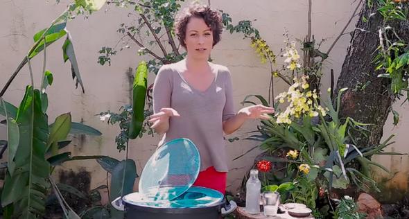 Aprenda a fazer um tambor de fertilizante