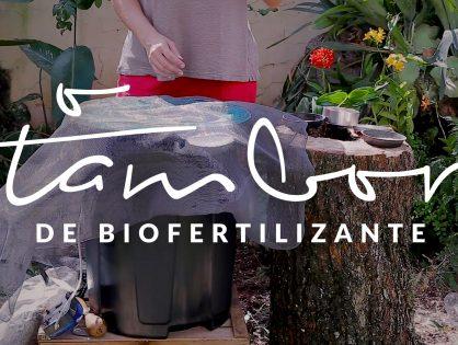 Jardim das Ideias #10: O tambor de biofertilizante