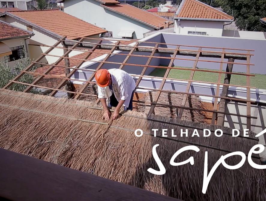 Jardim das Ideias #18: O telhado de sapé