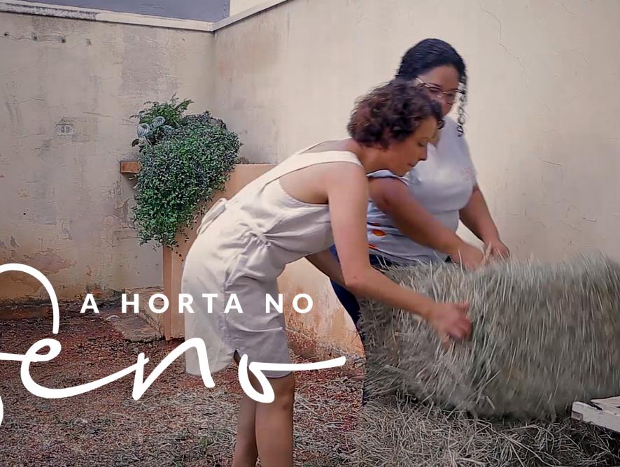 Jardim das Ideias #21: Horta no feno