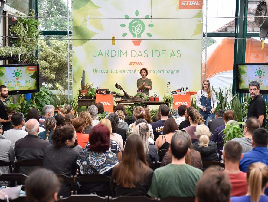 Saiba mais sobre o evento Jardim das Ideias STIHL