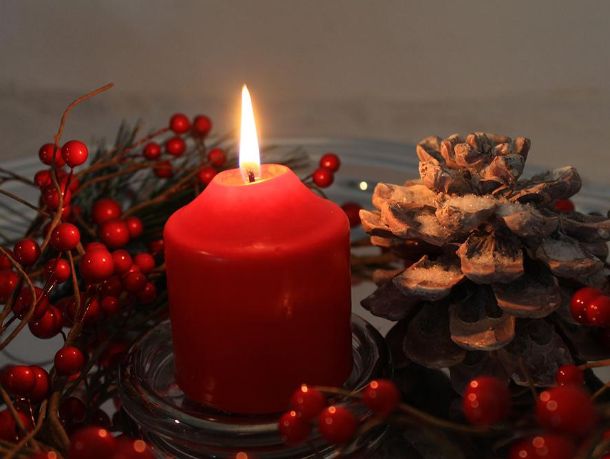 4 ideias de arranjo para decorar a mesa de Natal!