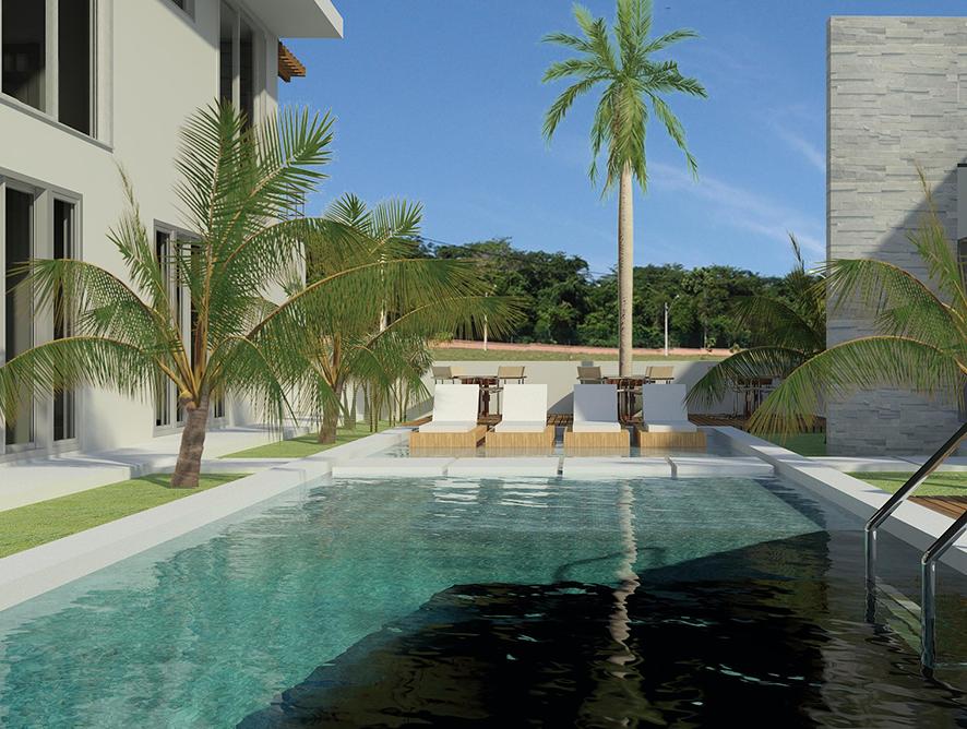 Jardim com piscina: os segredos para um espaço paradisíaco