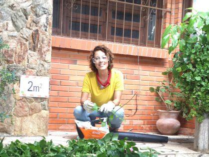 Ferramentas para auxiliar na produção de um jardim