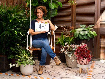 Jardim com piso cimentado | Sob medida – episódio 2