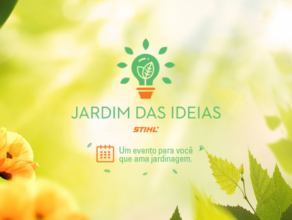O segundo fim de semana do Jardim das Ideias está chegando!