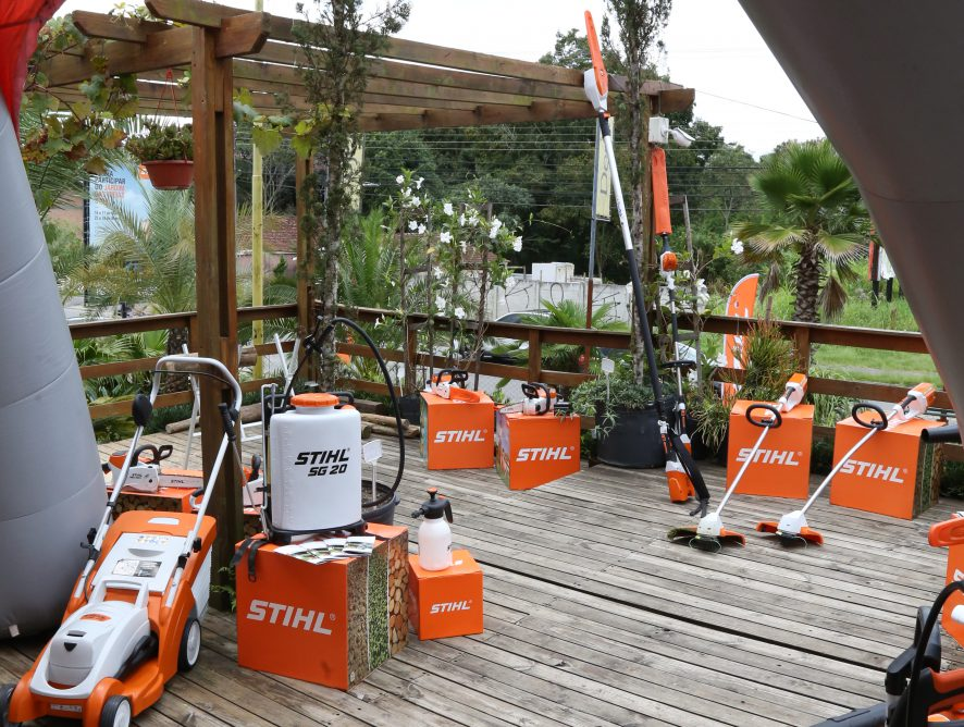 Curitiba: venha experimentar nossos equipamentos na Casa das Plantas.