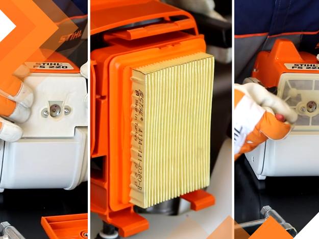 Como limpar o filtro de ar da sua roçadeira STIHL