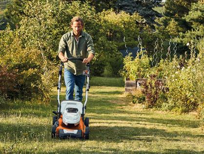 Conheça o cortador de grama RMA 460