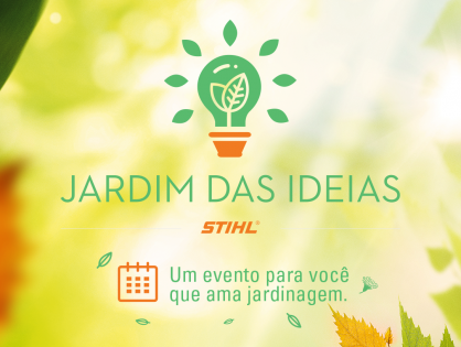 Evento Jardim das Ideias em São Carlos - SP