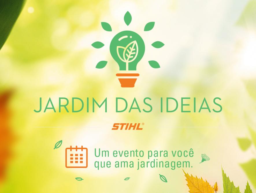 Evento Jardim das Ideias em Manaus