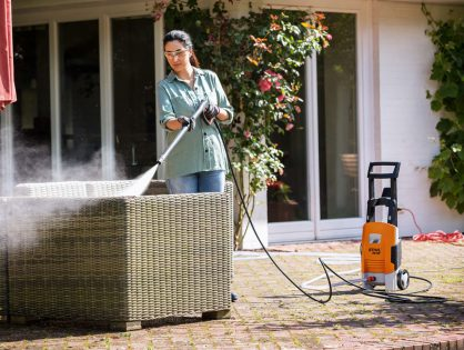 Limpeza doméstica rápida: lavadora RE 95