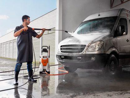 Para uso profissional: lavadora de alta pressão STIHL RE 232