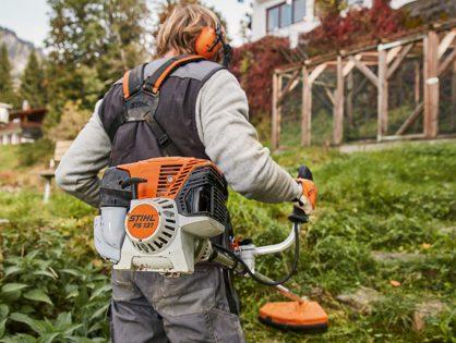 Roçadeiras para jardinagem profissional