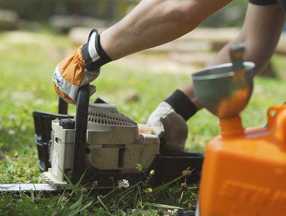 5 cuidados ao guardar ferramentas à combustão