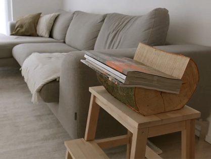 Como fazer um porta-livros e revistas de madeira