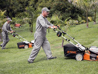 Invista nos cortadores de grama STIHL