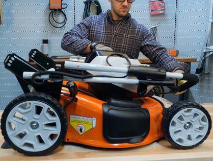 Como montar os cortadores de grama RMA 510 e RMA 510 V