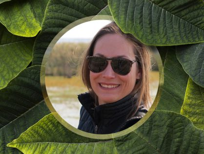 Papo com a ambientalista Lara Lutzenberger