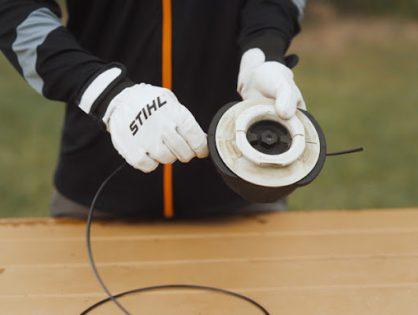 Como colocar o fio de corte no TrimCut C 32-2 e C 42-2?